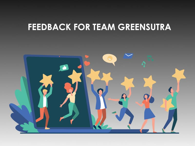 Feedback for Team GreenSutra